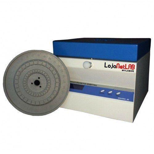CENTRIFUGA DIGITAL MICROHEMATOCRITO 10000 RPM  PARA 30 CAPILARES 220V REF 031