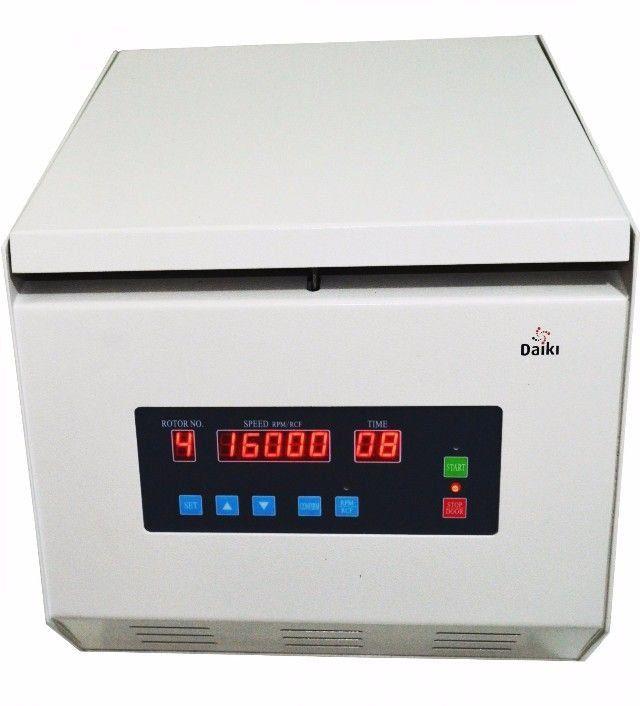 CENTRÍFUGA PARA MICROHEMATÓCRITO MICROPROCESSADA DIGITAL MULTI-ROTORES DTC-16000-BI DAIKI