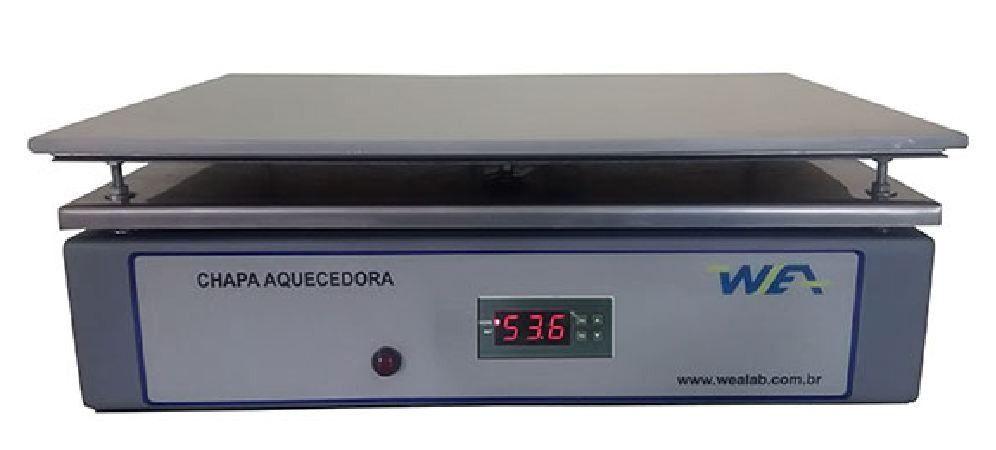 CHAPA AQUECEDORA DIGITAL PLATAFORMA 40X30CM TEMPERATURA 350°C 220V