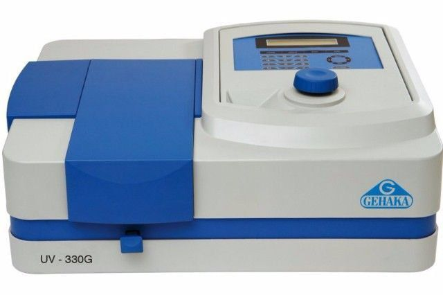 ESPECTROFOTÔMETRO DIGITAL UV/VISÍVEL 190-1100 NM REF UV-330G GEHAKA