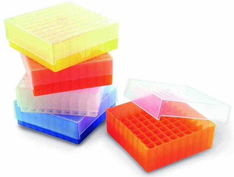 ESTANTE CRIOBOX PARA 81 TUBOS CRIOGÊNICO OU MICROTUBOS DE 1,5-2,0 ML K30-081 KASVI