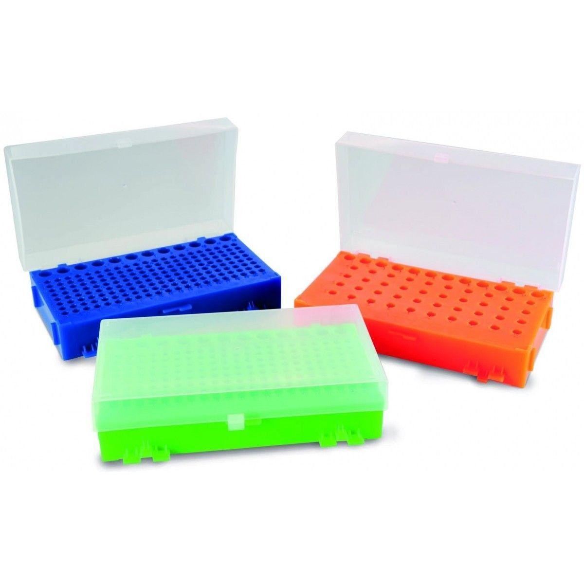 RACK ESTANTE DUPLA FACE PARA MICROTUBOS DE PCR DE 0,2 ML A 1,5 ML K30-003 KASVI