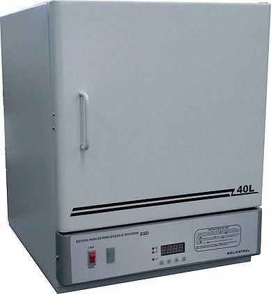ESTUFA DIGITAL DE ESTERILIZAÇÃO E SECAGEM TEMPERATURA DE TRABALHO +5 ATÉ 250°C REF SSD