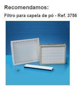 FILTRO PARA CAPELA DE EXAUSTÃO DE PÓ