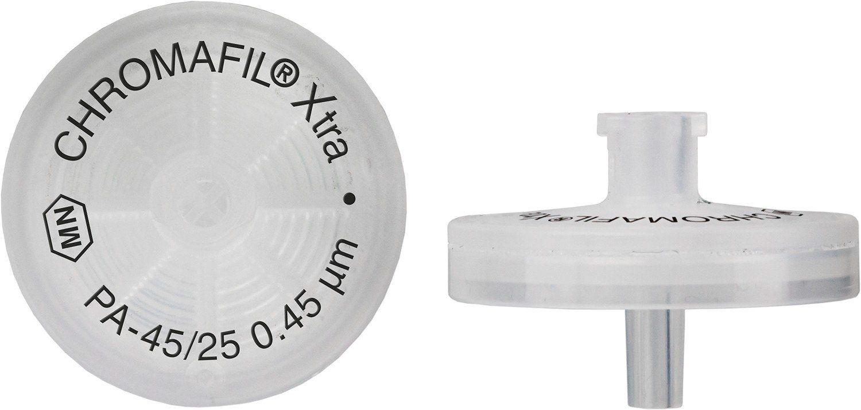 FILTRO PARA SERINGA CHROMAFIL XTRA PA 25MM 0,45UM C/100PC