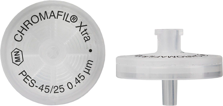 FILTRO PARA SERINGA CHROMAFIL XTRA PES 25MM 0,45UM C/100PC