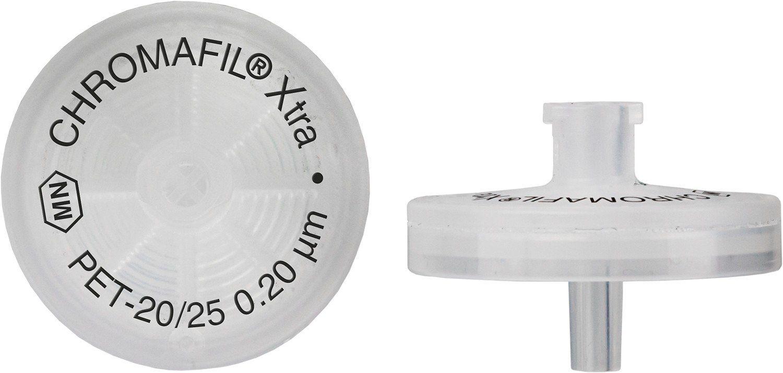 FILTRO PARA SERINGA CHROMAFIL XTRA PET 25MM 0,20UM C/100PC