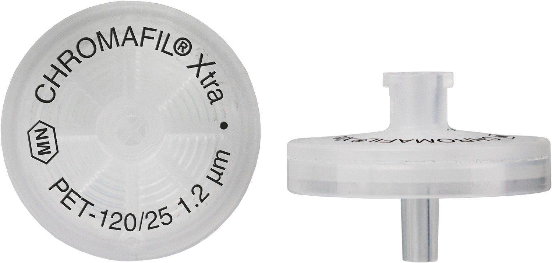 FILTRO PARA SERINGA CHROMAFIL XTRA PET 25MM 1,20UM C/100PC