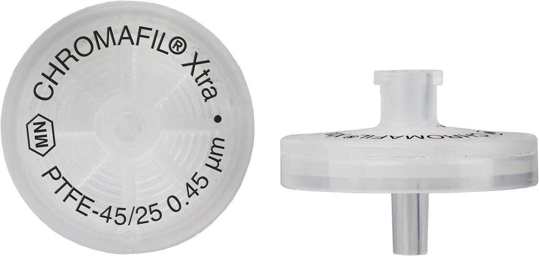 FILTRO PARA SERINGA CHROMAFIL XTRA PTFE 25MM 0,45UM C/100PC