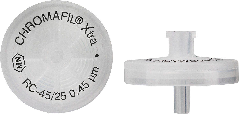 FILTRO PARA SERINGA CHROMAFIL XTRA RC 25MM 0,45UM C/100PC