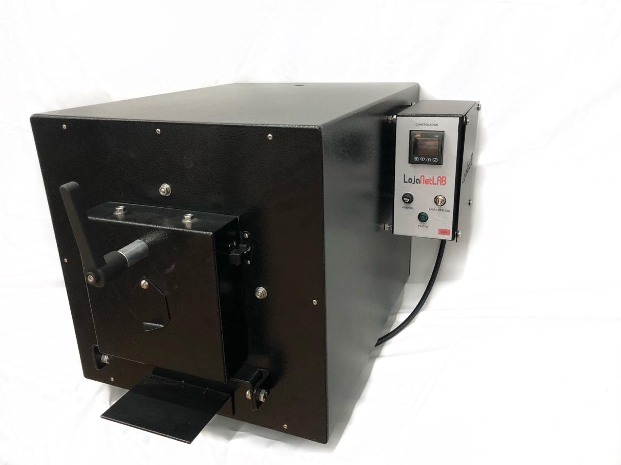 FORNO MUFLA DIGITAL COM RAMPAS E PATAMARES TEMPERATURA MÁXIMA 1200°C 220V