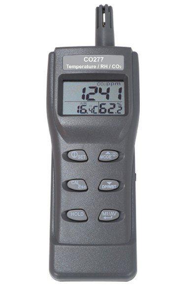 MEDIDOR DE CO2, UMIDADE E TEMPERATURA - CO277