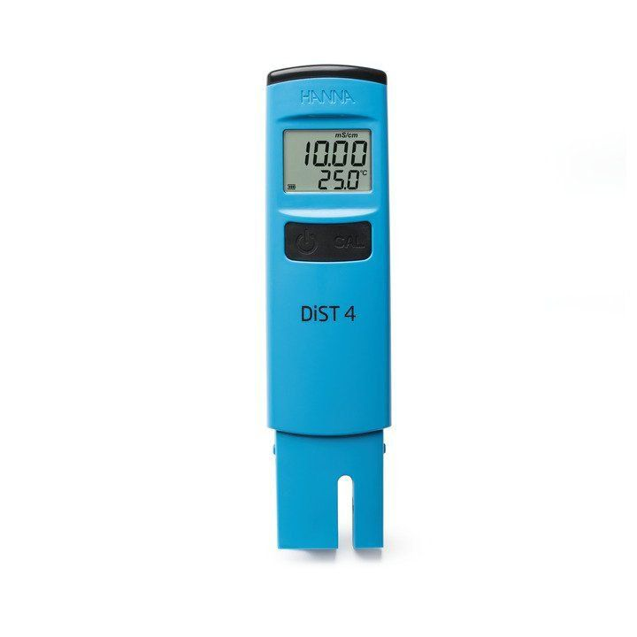 MEDIDOR DE CONDUTIVIDADE DIST®4 FAIXA DE 0-19.99 mS/cm HI98304 HANNA