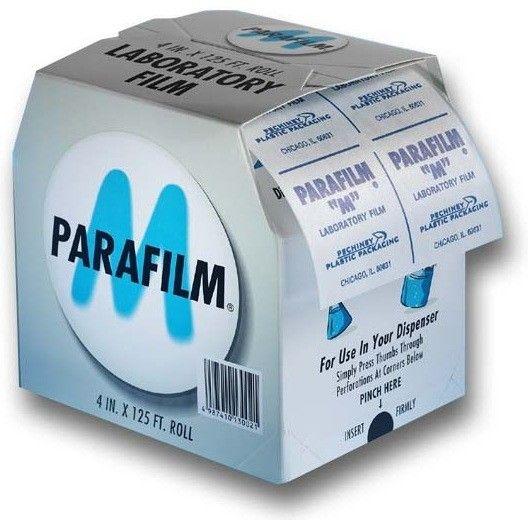PARAFILM M FILME PARA VEDAÇÃO ROLO COM 10,2 CM x 38,1M REF 12520 AMERICAN