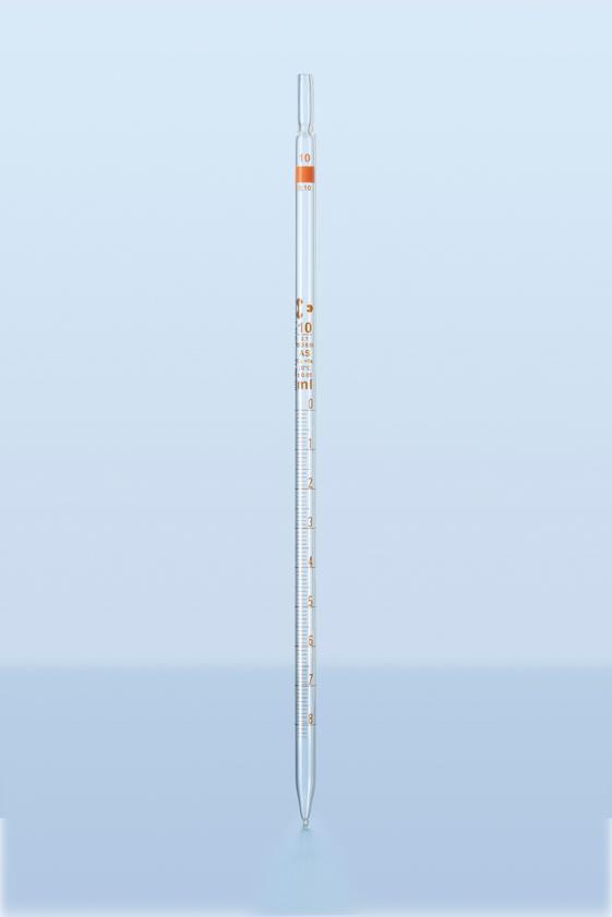 PIPETA GRADUADA CLASSE AS SCHOTT - CONFORME NORMA ISO 835