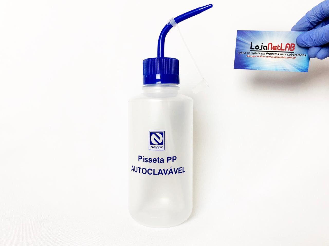 PISSETA (FRASCO LAVADOR) DE PLÁSTICO(PP) AUTOCLAVÁVEL 121°C  2230 NALGON