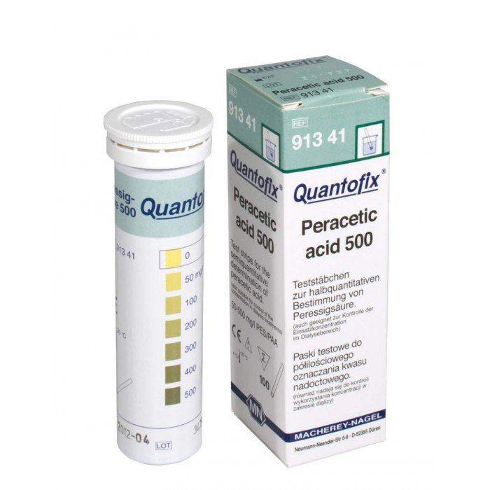 QUANTOFIX ACIDO PERACETICO 5-50MG/L C/100 TIRAS