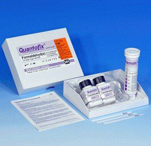 QUANTOFIX FORMALDEIDO 0-200 MG/L COM 100 TESTES + REAGENTE