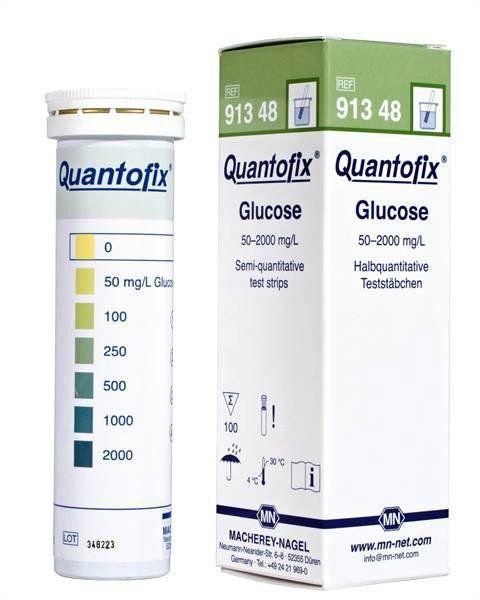 QUANTOFIX GLICOSE 50-2000 MG/L GLICOSE EM TIRAS