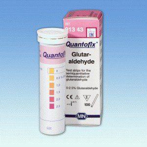 QUANTOFIX GLUTARALDEIDO 0-2,5% GLUT. EM TIRAS