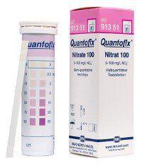 QUANTOFIX NITRATO 0-100 MG/L NO3 EM TIRAS