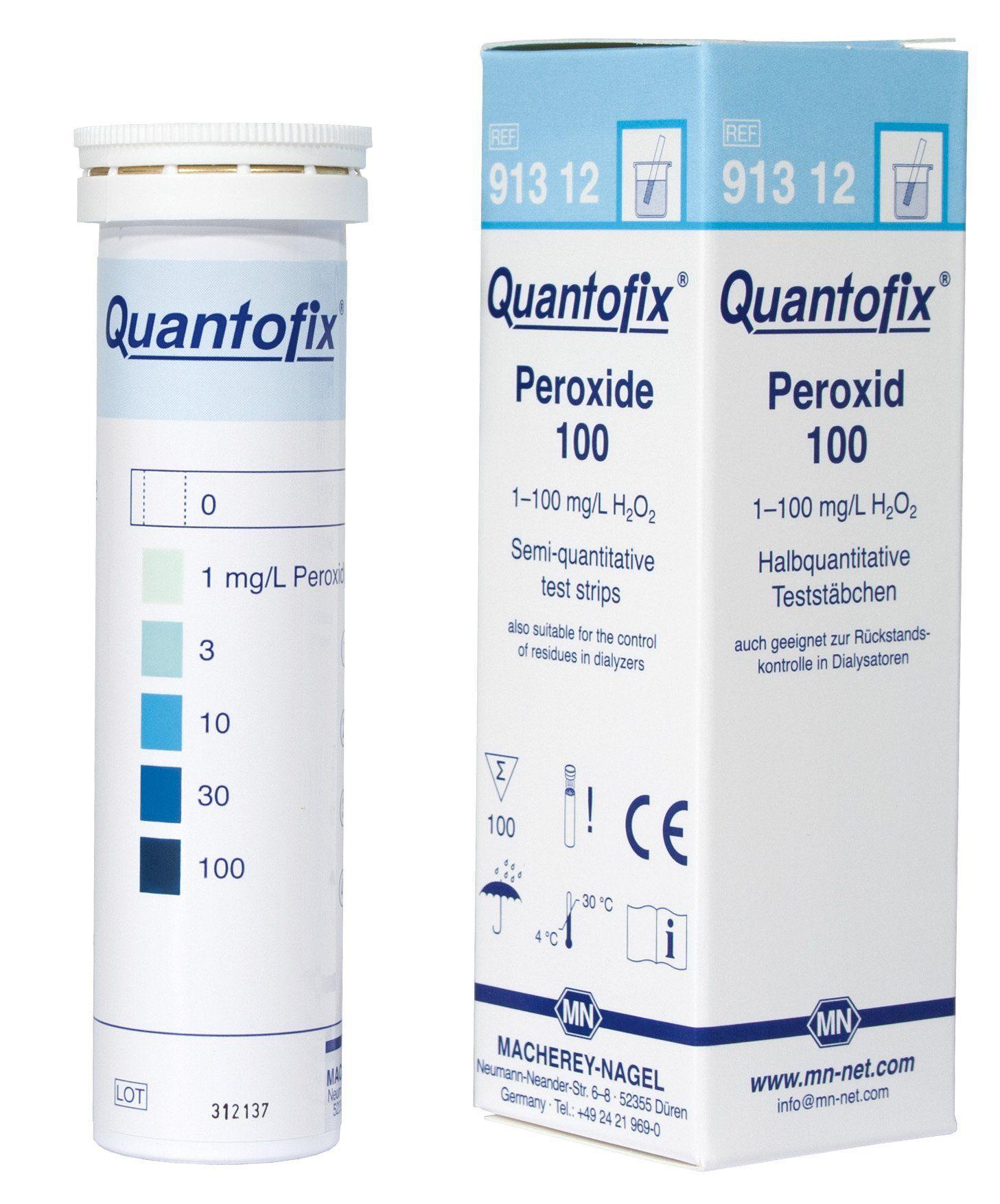 QUANTOFIX PEROXIDO 0-100MG/L EM TIRAS