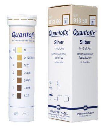 QUANTOFIX PRATA 1-10 G/L EM TIRAS