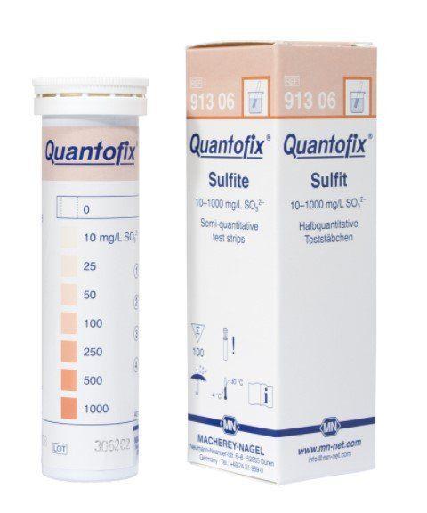 QUANTOFIX SULFITO 0-1000 MG/L EM TIRAS