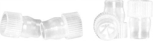 STOPPER DE PLASTICO N8 INCOLOR P/SHELL VIAL C/100 195.011