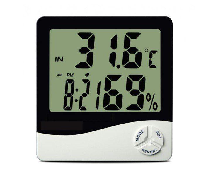 Termo-Higrômetro Digital com Máxima e Mínima - TH50 Incoterm