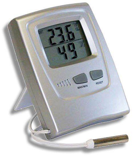 Termo-Higrômetro Digital Temperatura e Umidade Internas - INCOTERM