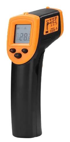 TERMÔMETRO DIGITAL INFRAVERMELHO COM MIRA LASER (TIPO PISTOLA) ESCALA -50 A +600°C