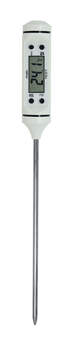 TERMOMETRO TIPO ESPETO DIGITAL ESCALA -50+300°C DIVISÃO 0,1°C HASTE 150MM TE07