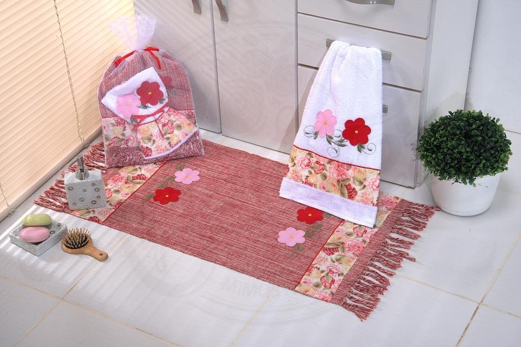 Kit de Lavabo Red Garden