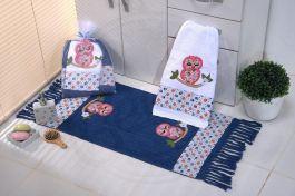 Kit de Lavabo Corujinha Blue