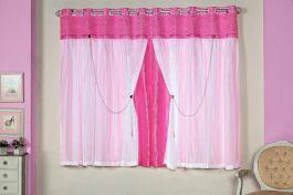 Cortina Princesinha Pink