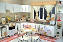 Itens para Cozinha em Patchwork - Regador Amarelo
