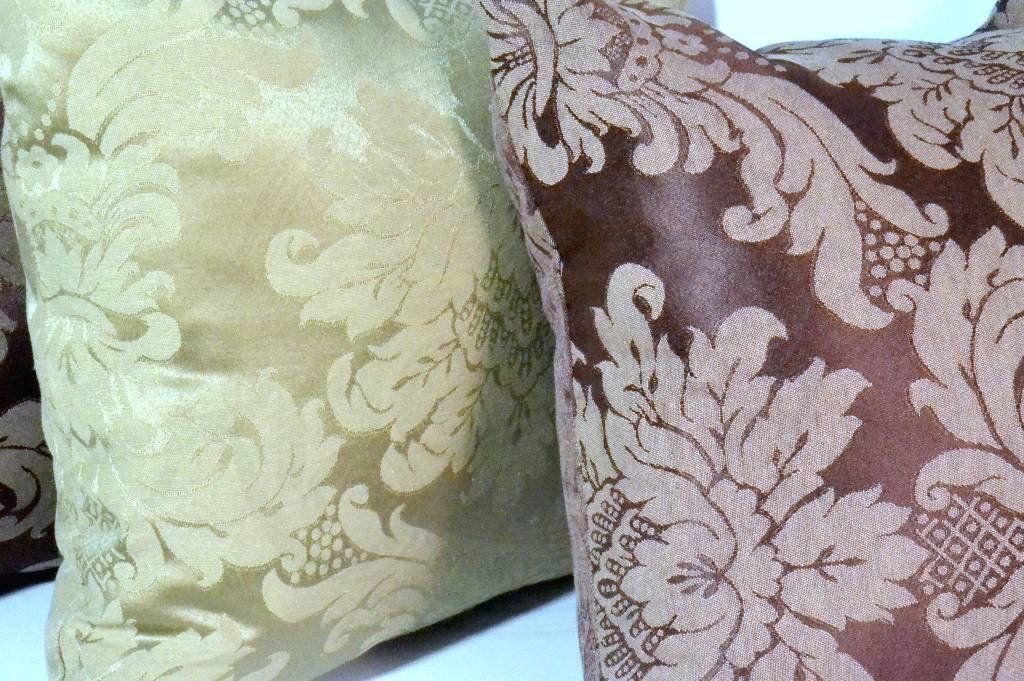 Capa de Almofada Elegance Bege e Marrom