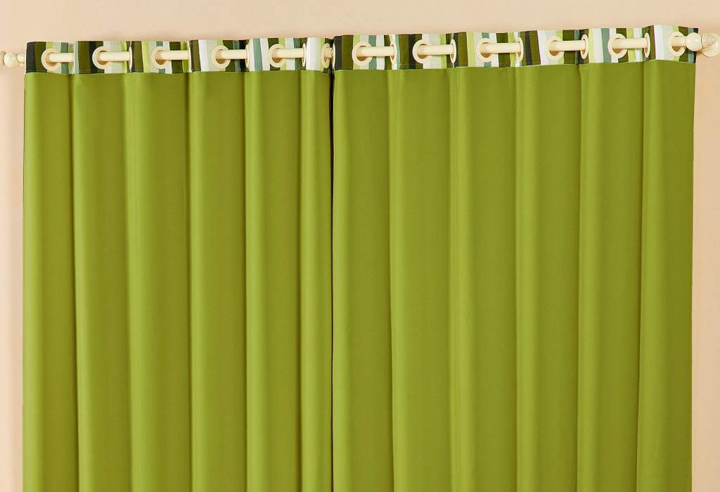 Cortina Arco-Iris Verde