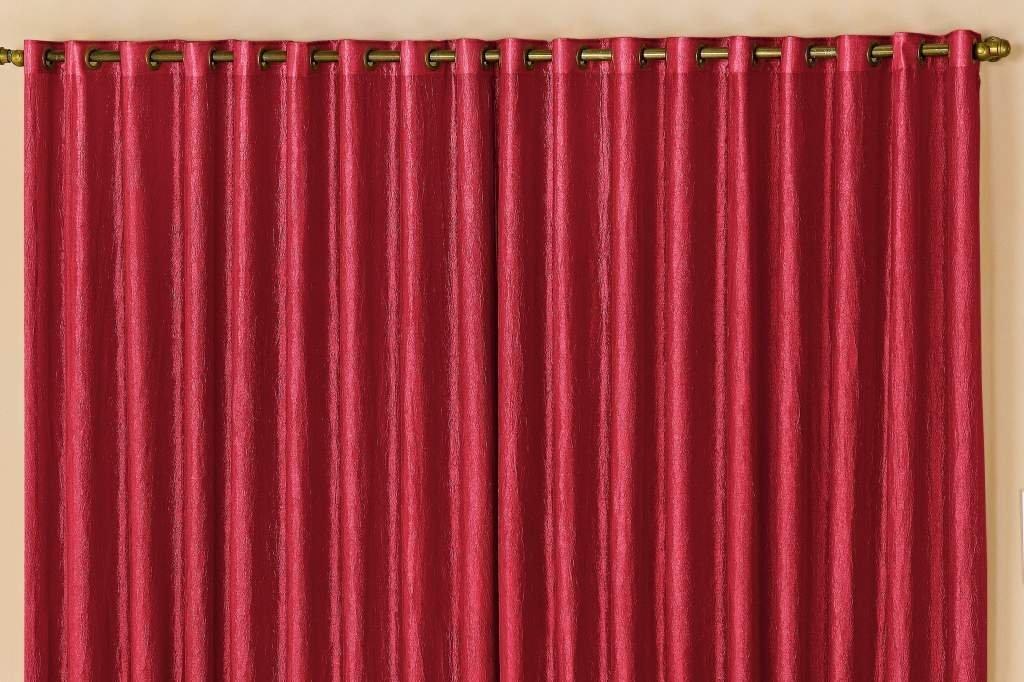 Cortina Nanda Vermelha