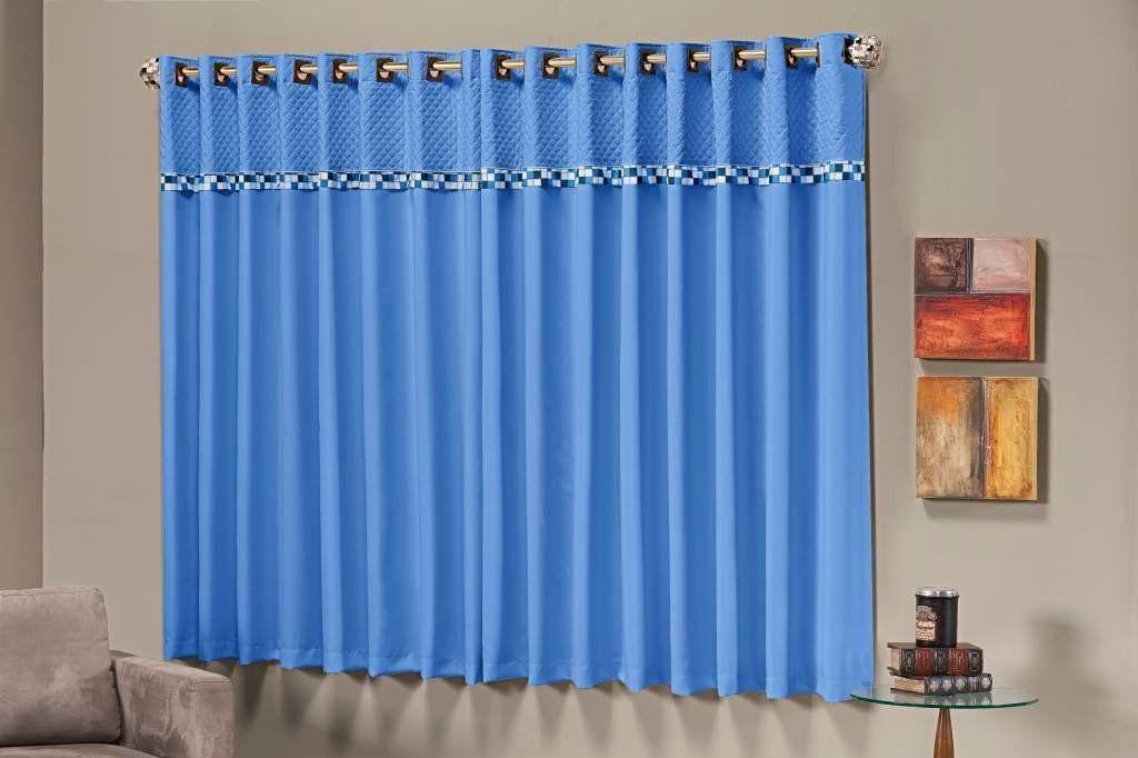 Cortina Thierry Azul