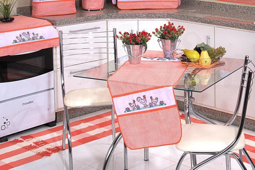 Itens para Cozinha Bordados - Gisella