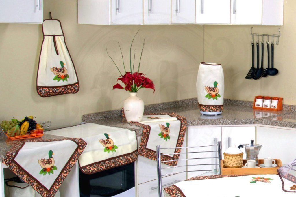 Itens para Cozinha em Patchwork - Patinha