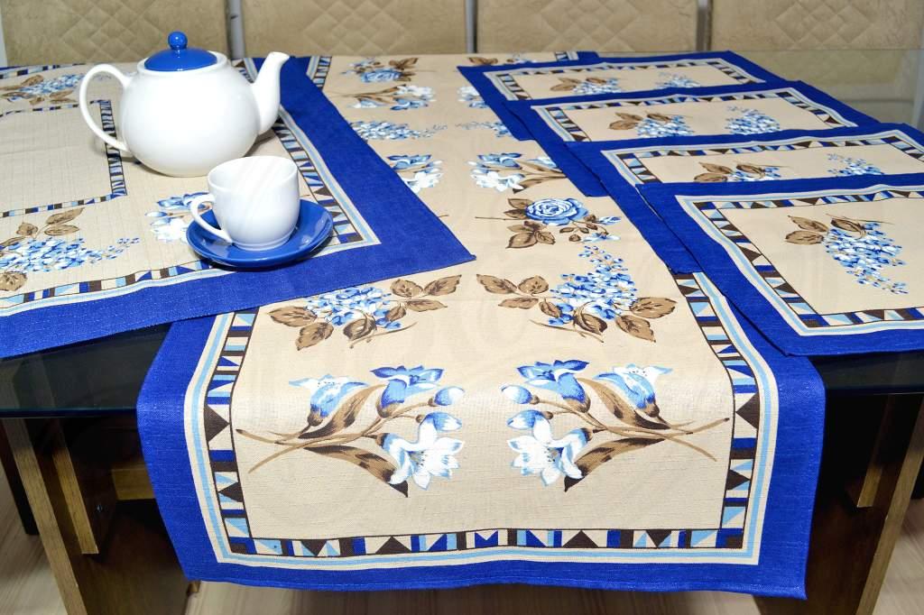 kit de Cozinha 6 Peças -  Blue Flower