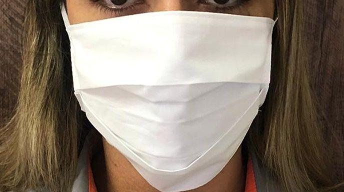 Kit Máscara de Proteção Individual Rosto Lavável Reutilizável 6 Peças