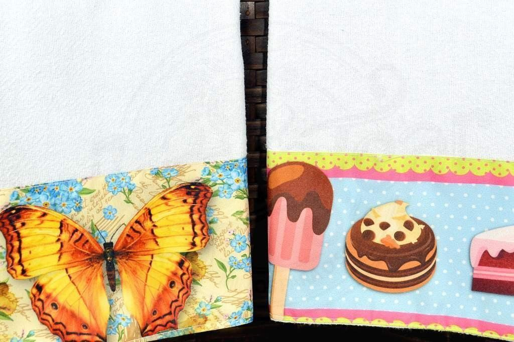 Kit Pano de Pratos com 2 peças - Fabi