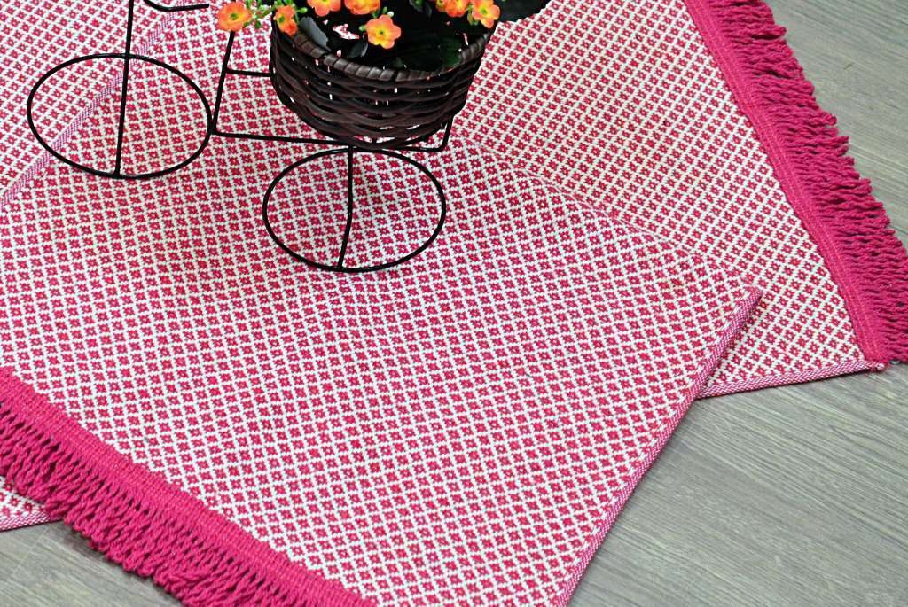 Par de Tapetes Balãozinho - Pink
