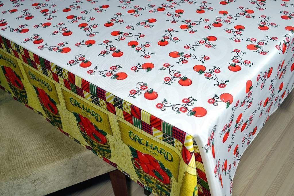Toalha de Mesa Oxford - Tema Tomates