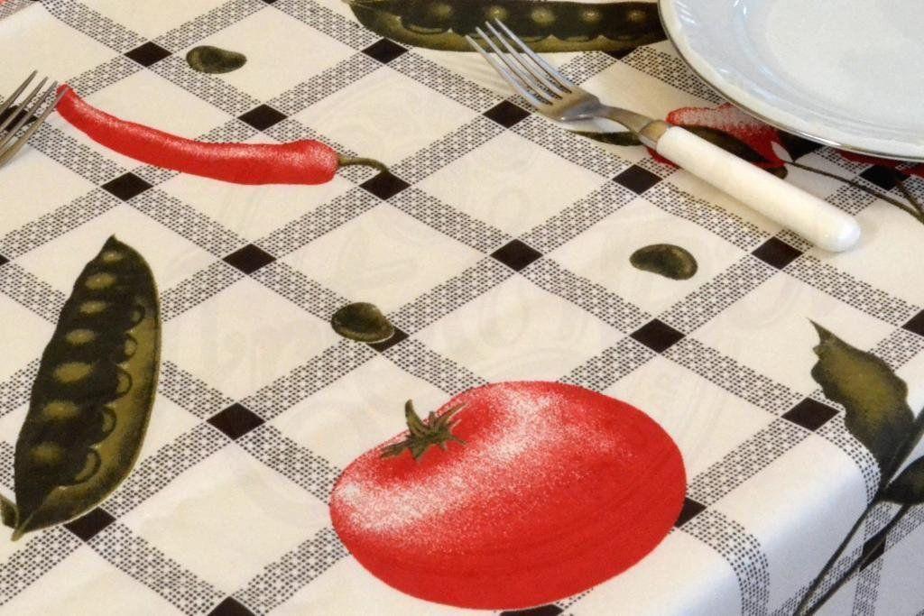 Toalha de Mesa Oxford - Legumes