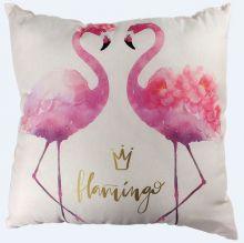 Almofada Decoração Flamingo - Zonacriativa